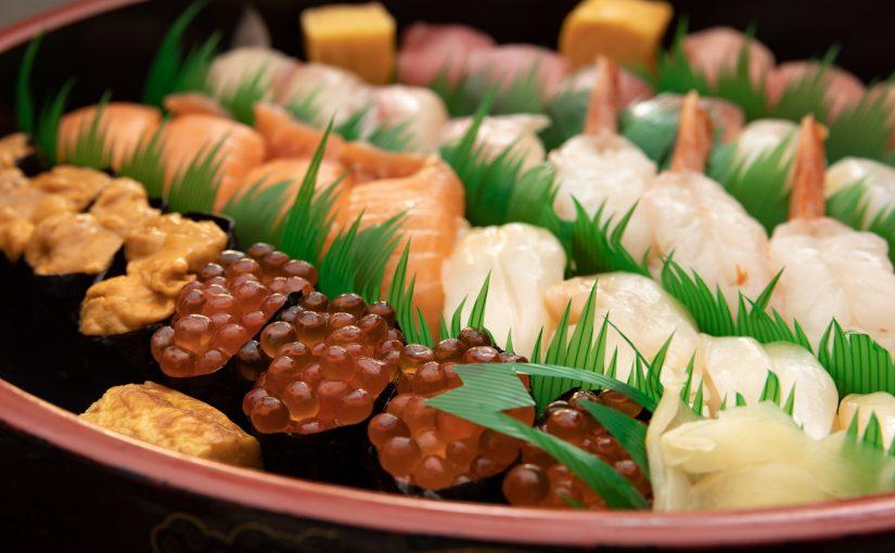 トラックのチャーター便で取り寄せたというネタの寿司は最高だった!